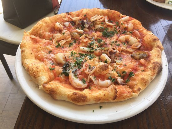 Pizza Al Mare Picture Of Terrazza Santa Monica Tripadvisor
