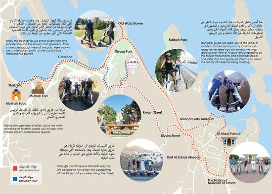 Muttrah, Oman: tours description and map