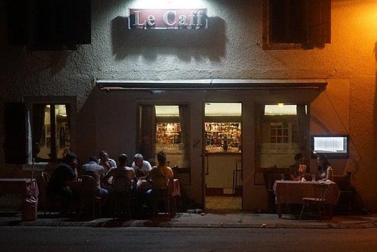 Pampelonne, Γαλλία: Mercredi 27 juillet 2018 à la terrasse du Caff