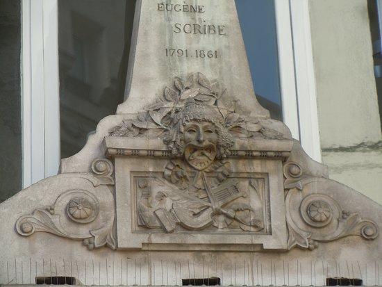 Buste d'Eugène Scribe