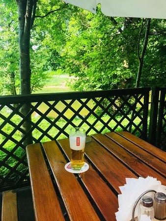 Spychowo, Poland: Taras - piwo