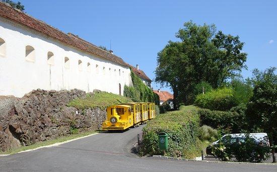 Hirnsdorf, Австрия: Zug zum Schloss