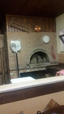 Canolo, Itália: Forno a legna