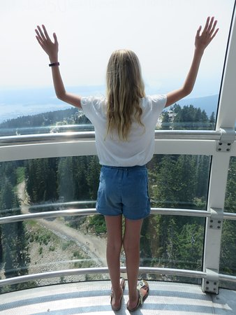North Vancouver, Canada: Top of the Eye of the Wind