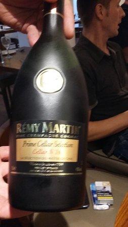 Fina Bar & Grill: che classe questo cognac....