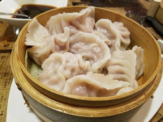 Ginger Asian Cuisine: Steamed dumplings