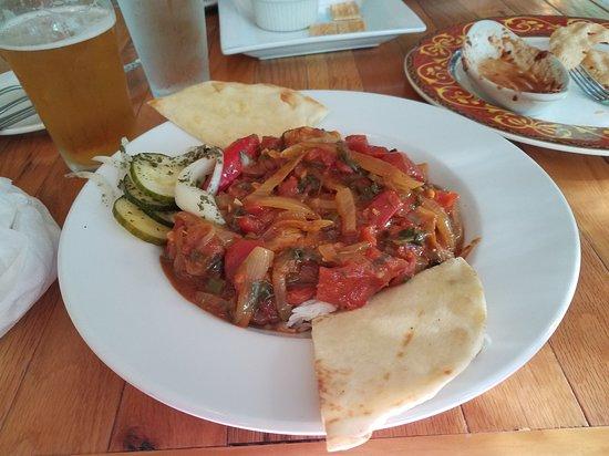 Maple City, MI : Byriani with Shrimp