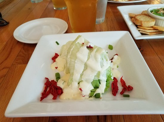 Maple City, MI : House Salad with Ranch and Sundried Tomatoes