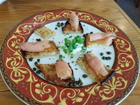 Maple City, MI : Smoked Salmon with Irish Soda Bread