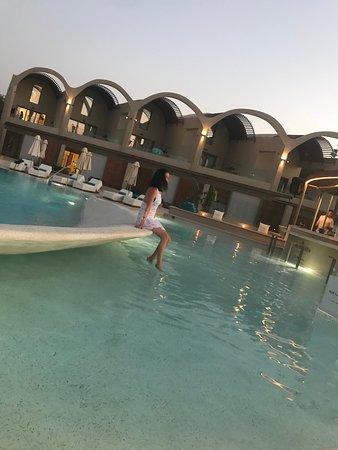 Swimming pool... - Picture of Domes Noruz Chania, Kato ...
