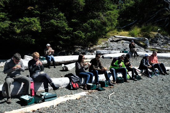 Moresby Island, Canada: Beach lunch on cultural excursion