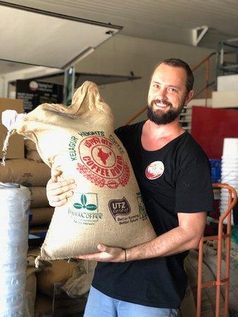 Stratford, Australia: Some of our Single Origin coffee from India