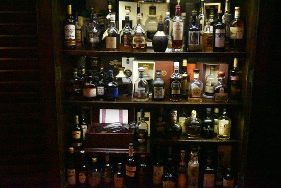 Upstairs Restaurant: Rum Selection