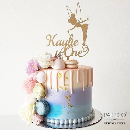 Marvelous Beautiful Ombre Cake With Fresh Flowers Happy Birthday Picture Funny Birthday Cards Online Inifofree Goldxyz