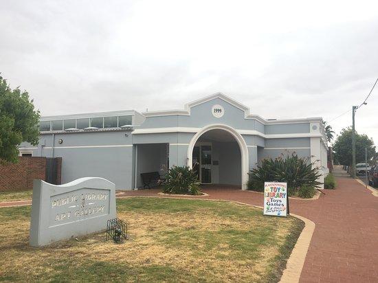Katanning, Australia: Gallery/Library entrance