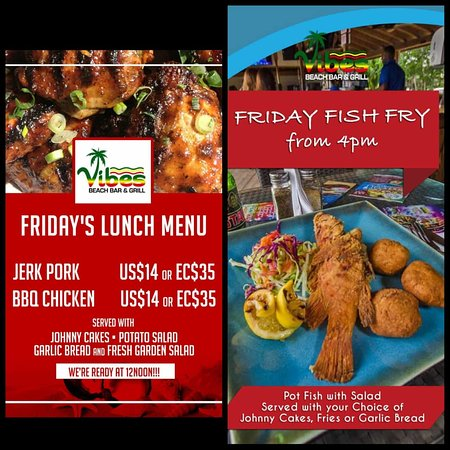 Fish Fry is every Friday