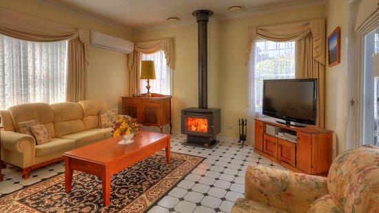 St Marys, Australien: Lounge Room 2 - with Wood Heater