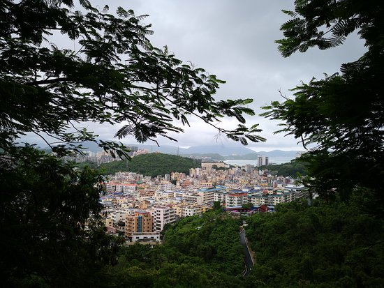 Luhuitou Park: Виды на подъеме/спуске