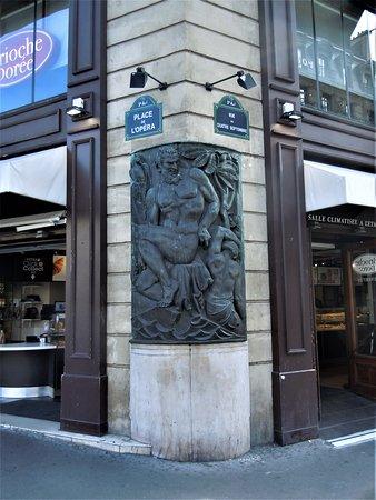 Sculpture Faune et Bacchante
