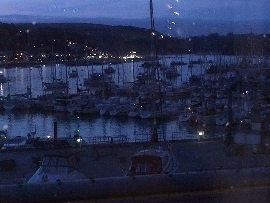 Kingswear, UK: Lovely view from the restaurant window.