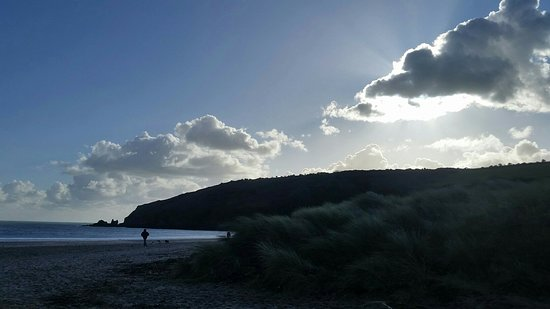 Freshwater East Beach: My days out.