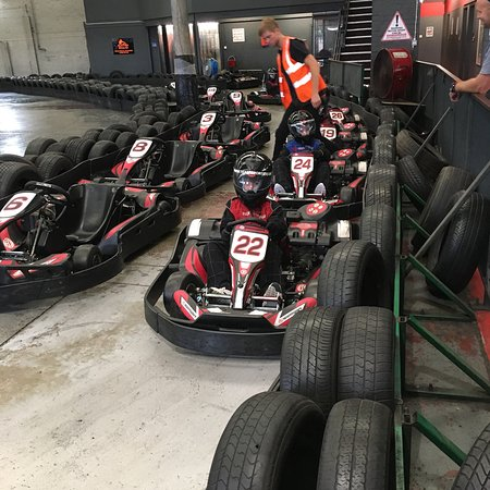 ‪TeamSport Indoor Go Karting Southampton‬
