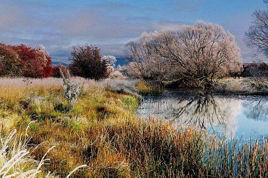 St Marys, Australien: Fingal Valley - Frosty Autumn Morning
