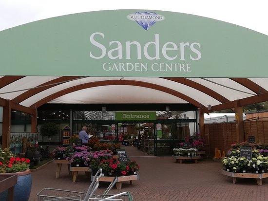 Brent Knoll, UK: Entrance to Sanders Garden Centre