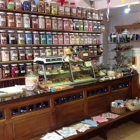 Aylsham, UK: Over 300 jars of sweets for you to choose, Do we have your favourite?