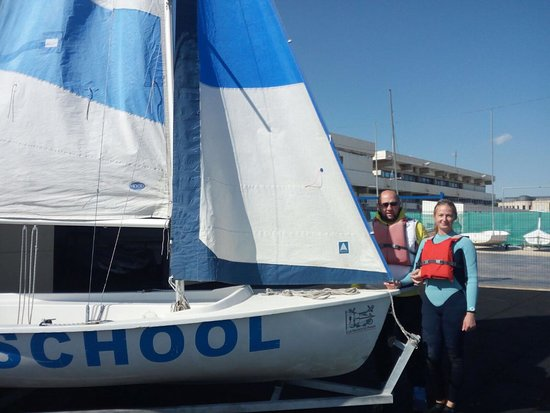 Santa Pola, Espanha: Windsurfing school