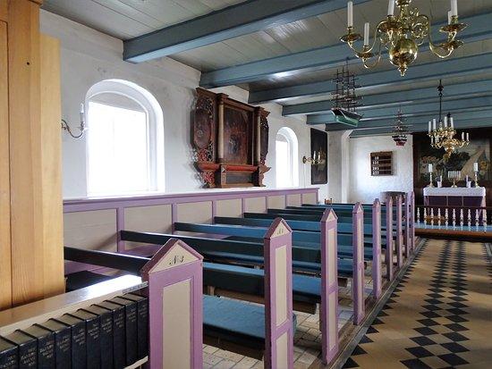 Mandø Kirke: interno