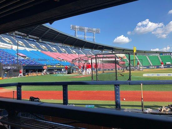蚕室棒球场照片