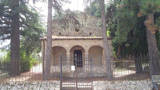 Bominaco: Oratorio di San Pellegrino