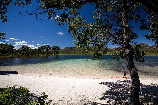 Rio da Conceicao: Lagoa linda com água cristalina e temperatura super agradável (depende da época)