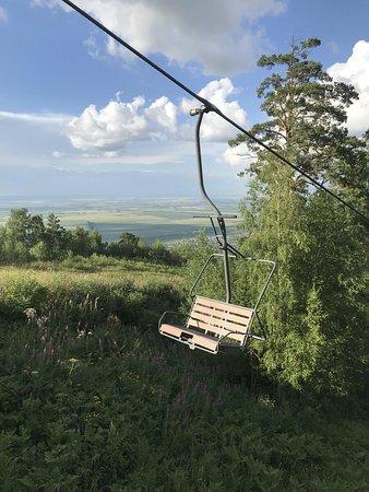 Belokurikha, Rusia: Пассажирское кресло канатки