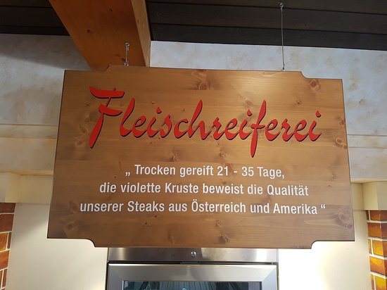 Angath, Österreich: Tells you how the meat is aged