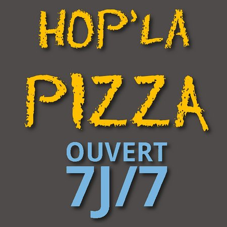 Traînou, France: Logo Hop'la Pizza