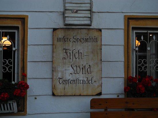 Zell am Moos, Österrike: Die Spezialitäten