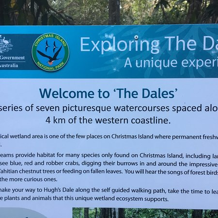 Dales Picture Of The Dales Hiking Trail Christmas Island