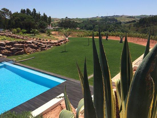 Carvoeira, Portugal: Swimming pool area