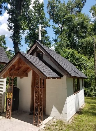 Townsend, GA: This is a current picture of The Smallest Church in America