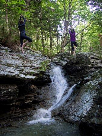Saint-Philemon, Kanada: Site de yoga exceptionnel
