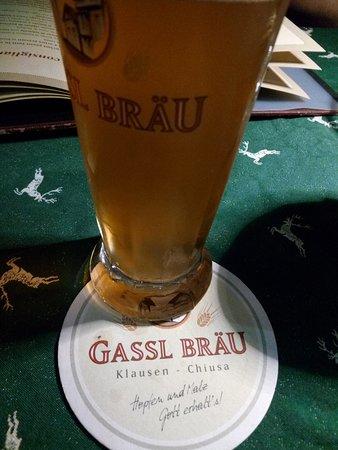 Gassl Brau: Birra da aperitivo