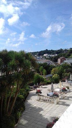 La Haule Manor: View from room 16