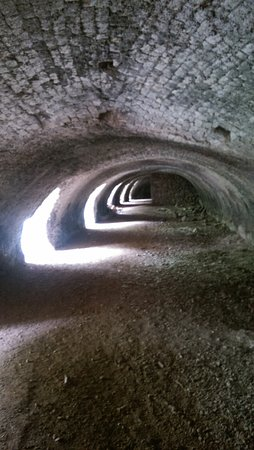 Llanymynech, UK: Inside Kiln