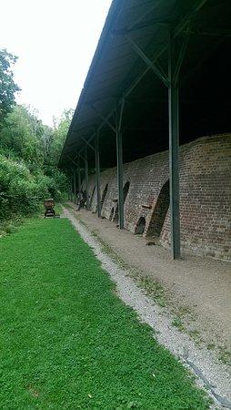 Llanymynech, UK: Side of Kiln