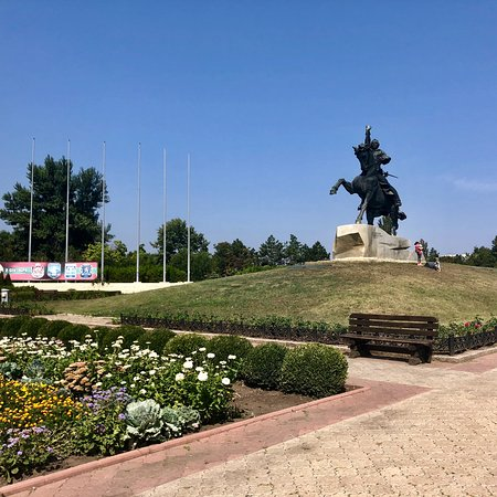 The Suvorov Monument: Monument Tiraspol