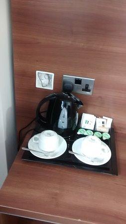 Eccles, UK: tea/ coffee faclities