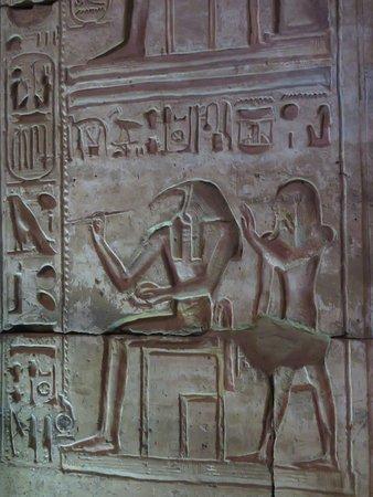 神廟內壁畫一