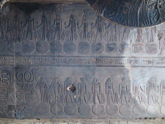 Isna, Egypt: 天體運行圖二